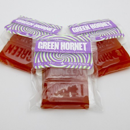 Green Hornet Gummies - CBD