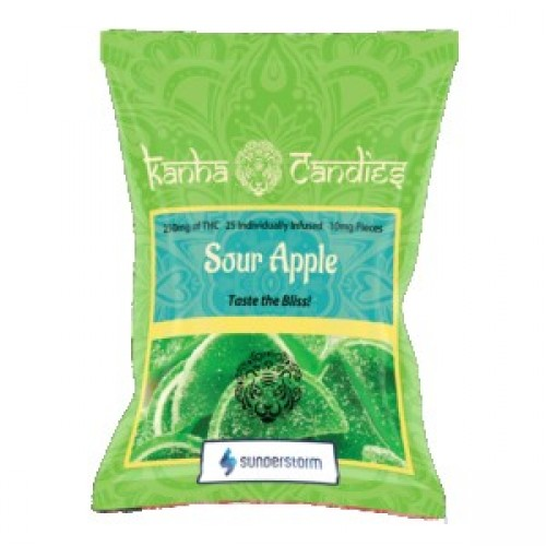 Kanha Candies - 150mg Sour Apple