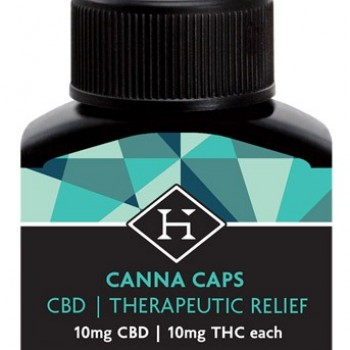 CBD Hash Caps 20mg - 5 pack
