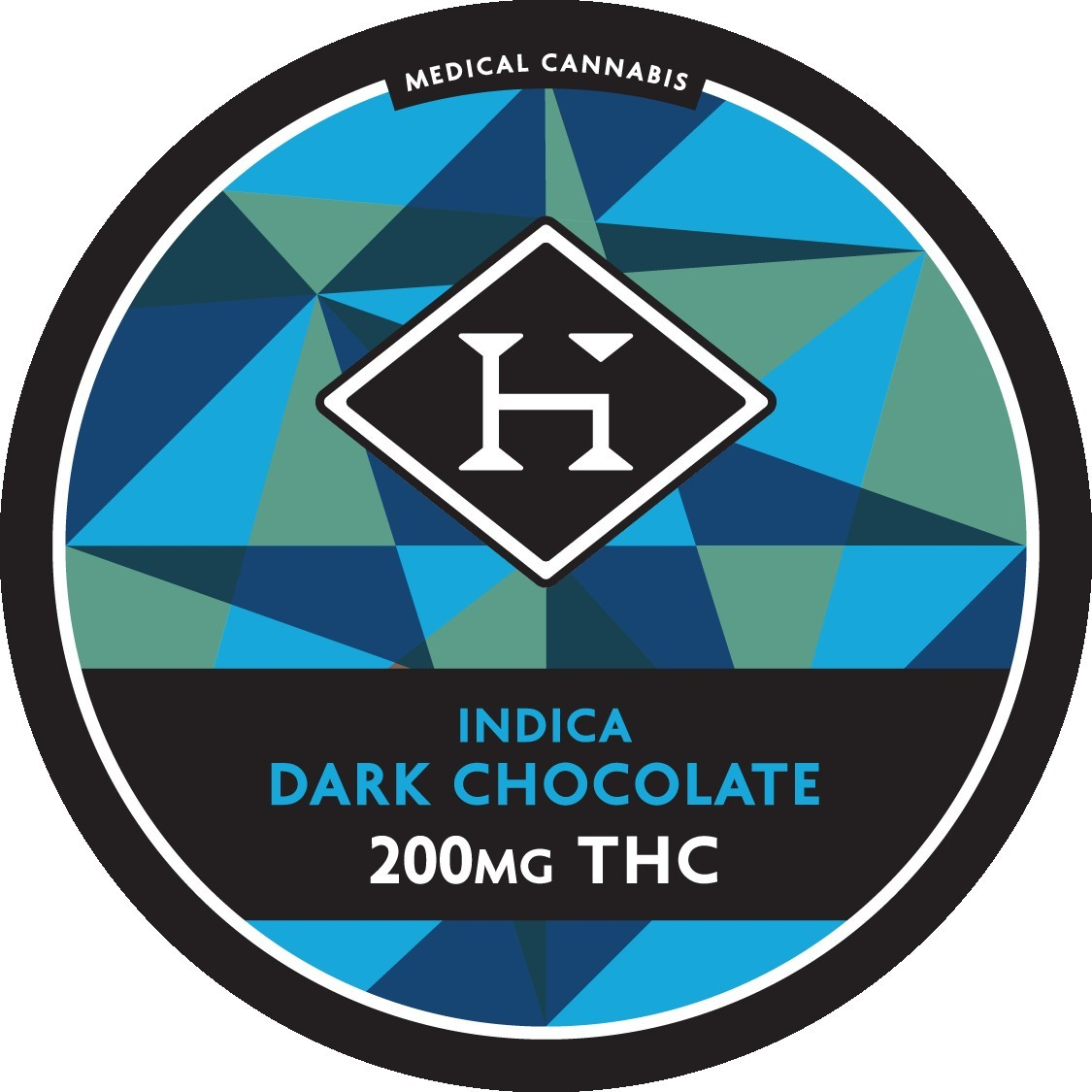 Indica Chocolate Bar - 200mg