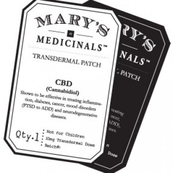 Transdermal Patch - CBD - Topical - Mary's Medicinals